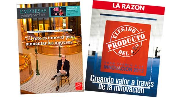 La Vanguardia Y La Razón Dedican Sus Suplementos Especiales A La Innovación Y A El Producto Del Año