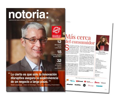 Un Año Más, Os Presentamos La Revista Notoria Sobre Innovación En Gran Consumo