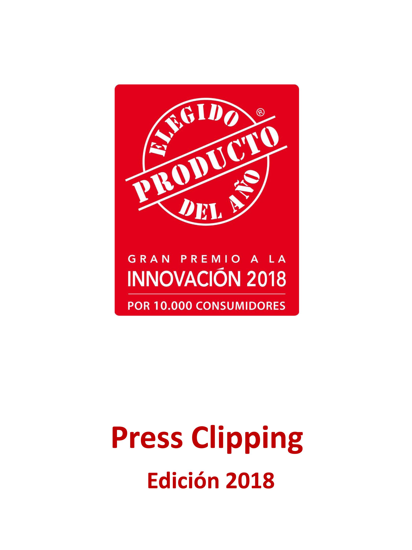 Press Clipping El Producto Del Año 2018
