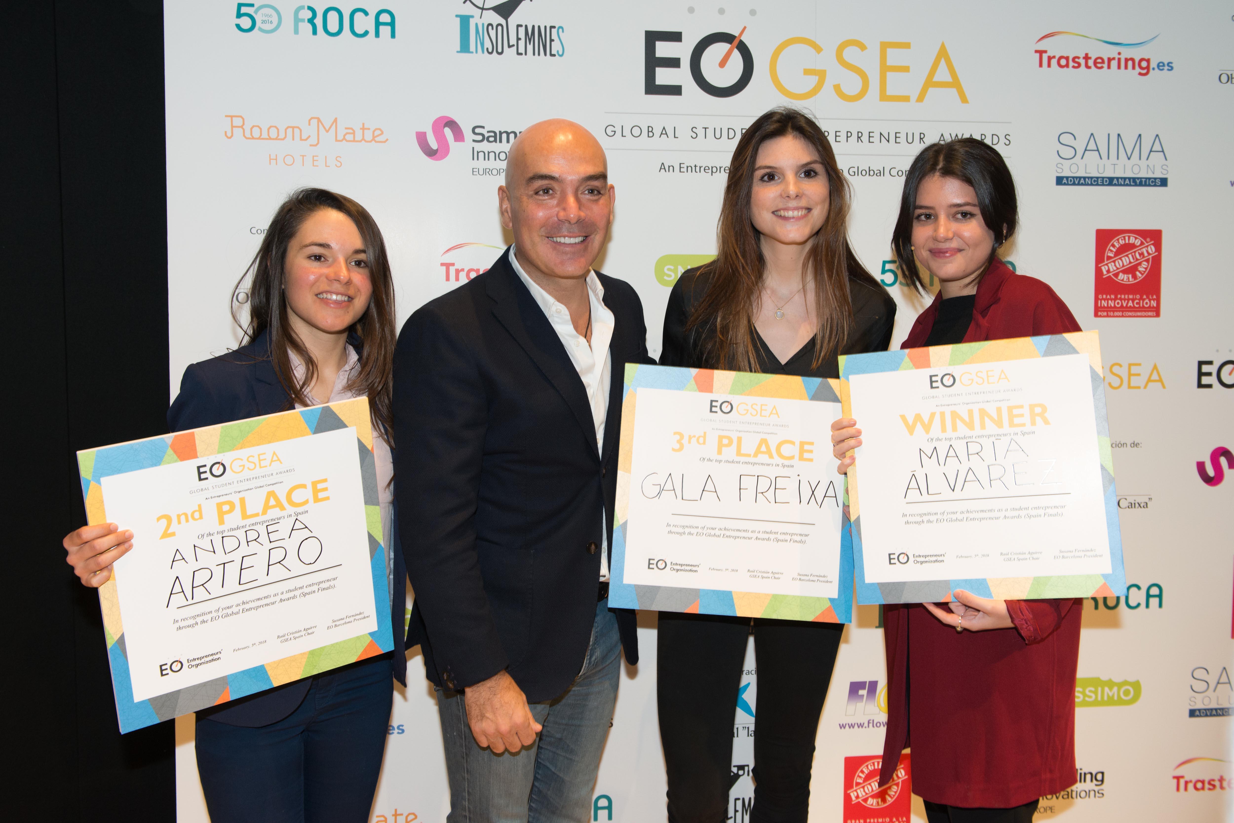 El Producto Del Año Apoya A Los Jóvenes Emprendedores