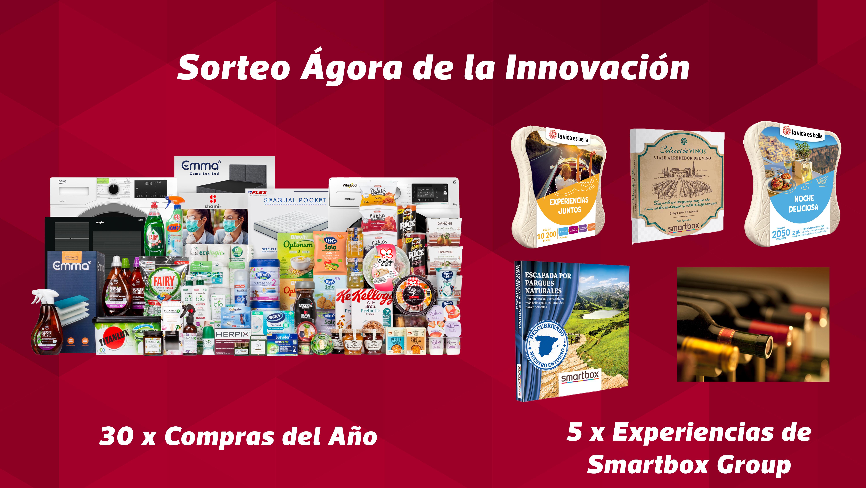 GANADORES SORTEOS INAUGURACION ÁGORA DE LA INNOVACIÓN – 24/02/2021